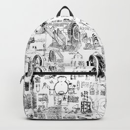 Da Vinci's Sketchbook Backpack
