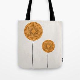 Flower Pair Tote Bag