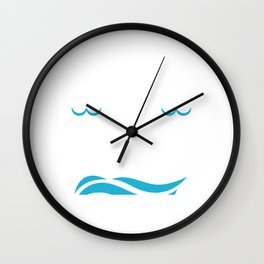 Life In The Fast Swimming Gift Print Swim Coach Swim Team Product Wall Clock