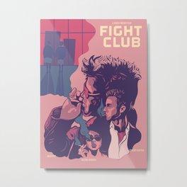 Fightclub Metal Print