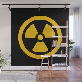 Yellow Radioactive Wall Mural