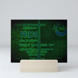 Slow Ticket To Ride Mini Art Print