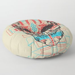 Skull Native Floor Pillow