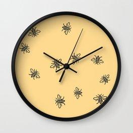 Bee Strong Wall Clock