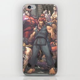 Street Fighter - Villains iPhone Skin