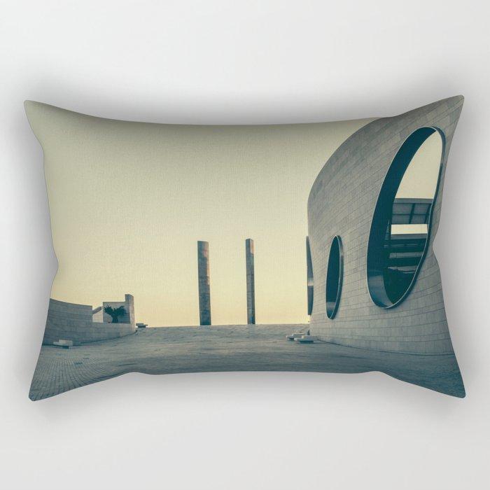 Champalimaud Foundation Rectangular Pillow