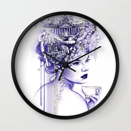 Miss Saint Petersburg Wall Clock