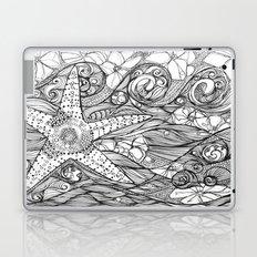 Starfish went out swimming Laptop & iPad Skin
