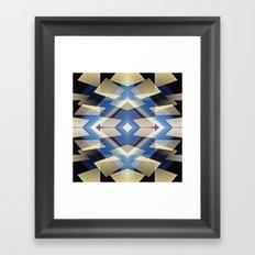 BlueStarNova Framed Art Print