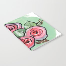 Roses for my Valentine Notebook