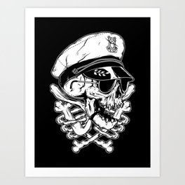 Death Captain Art Print