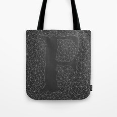 Light Letter F Tote Bag
