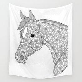 Miss Flower Lynn Quarter Horse Wall Tapestry
