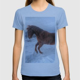 Fire and Ice - Equine Photography T-shirt