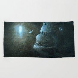 Angler Angling Beach Towel