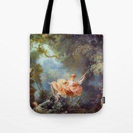 Jean-Honoré Fragonard - The Swing Tote Bag