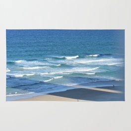 Surf at Surfers Paradise Rug