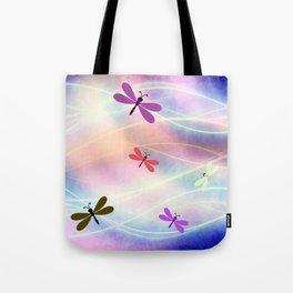 Abstract Dragonflys Tote Bag