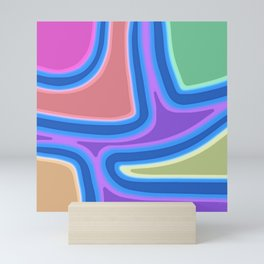 A Festival of Colors Mini Art Print