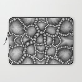 Chaotic Clusters Macro Abstract Laptop Sleeve
