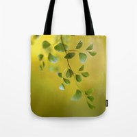 fern Tote Bags featuring Fern by Mandy Disher