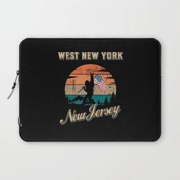 West New York New Jersey Laptop Sleeve