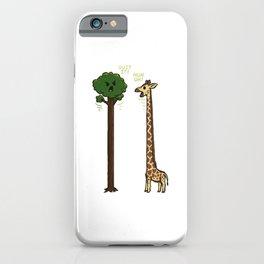 Evolution is a Jerk iPhone Case