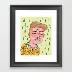 Sad Enlightenment Framed Art Print