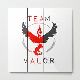 Team VALOR Metal Print