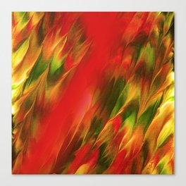 Melting in red / Sciogliersi nel rosso Canvas Print