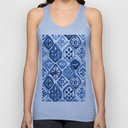 Arabesque tile art Unisex Tank Top