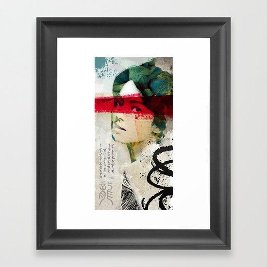 Saigon Sally Framed Art Print