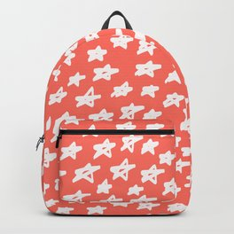 Stars Living Coral Backpack