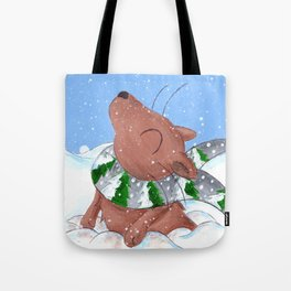 Winter's Here to Stay! Tote Bag