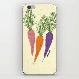 Zanahorias iPhone Skin