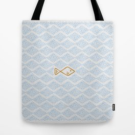 1# PUNTILLISM / THE BIG OCEAN Tote Bag