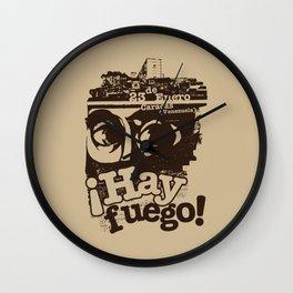 Hay Fuego! Wall Clock