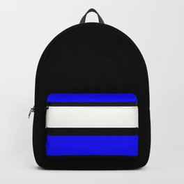 Team Colors 2....Blue Backpack