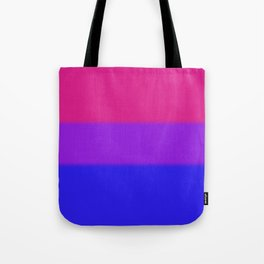 Bisexual Pride Flag Tote Bag