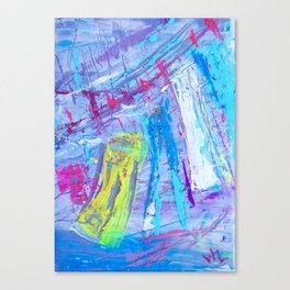 'Laundry days' Canvas Print
