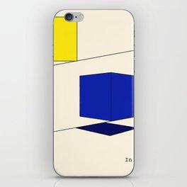 In Squares iPhone Skin