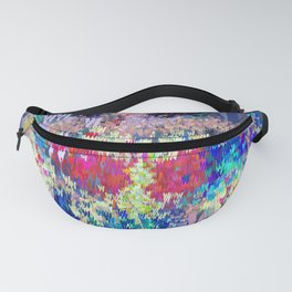Wonder Type Woman - Abstract Pop Art Comic Fanny Pack