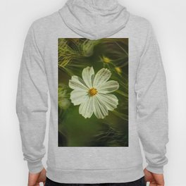 White flower kosmeya Hoody