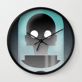 Mr. Freeze Wall Clock