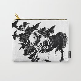 Horse Feathers Carry-All Pouch