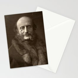Portrait of Offenbach by Nadar Stationery Cards