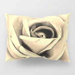 Modern Buttery Yellow Cream Rose Flower Art A266g Pillow Sham