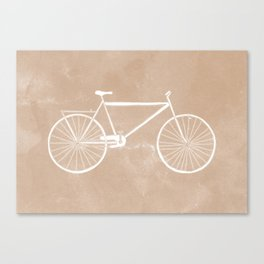 Bicyclette. Canvas Print