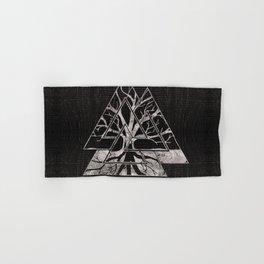 Valknut Symbol and Tree of life  -Yggdrasil Hand & Bath Towel