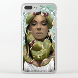 Unbound Clear iPhone Case